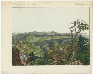 TWO UNTITLED VIEWS OF Mountainous Regions in Asia or the Middle East.