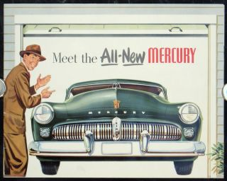 Meet the ALL-NEW Mercury (Advertising Booklet). MERCURY