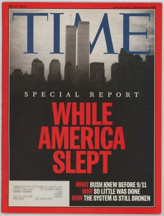 "Time. 9/11 ""SPECIAL REPORT"""