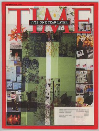 Time Magazine. September 11, 2002. 9/11 ONE YEAR LATER