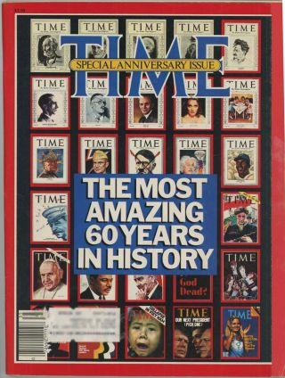 Time. 60th ANNIVERSARY ISSUE.