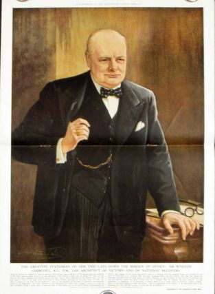 Illustrated London News. CHURCHILL, Earl Winterton