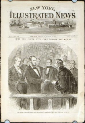 New York Illustrated News (March 16 1861). LINCOLN INAUGURATION