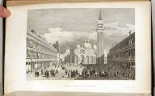 "Landscape Annual 1831: ""The Tourist in Italy"" ITALY - STEEL ENGRAVED VIEWS, Thomas Roscoe"