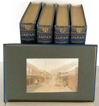Japan Described and Illustrated by the Japanese. Written by Eminent Japanese Authorities and Scholars.