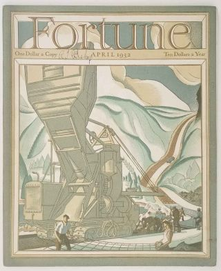 Fortune Magazine. April 1932. BOOKS, BOOKDEALERS / UNITED AIRPLANE / WRIGLEY GUM