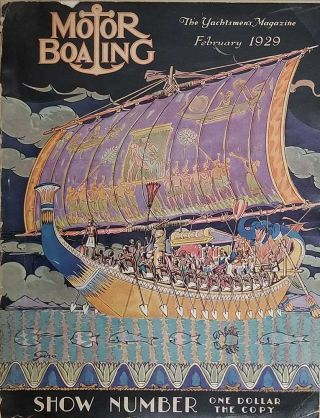 Motor Boating. The Yachtsmen's Magazine. SAILING - MOTORBOAT SHOW NUMBER, Charles F. Chapman