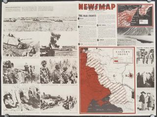 Jap Aircraft. Newsmap Overseas Edition. Monday, August 16, 1943. Week of August 5 to August 12. 205th Week of the War - 87th Week of U.S. Participation.