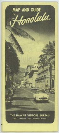 Map and Guide of Honolulu.