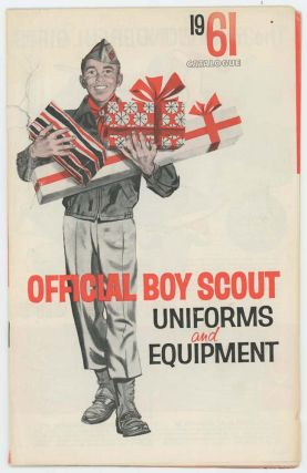 Official Boy Scout Uniforms and Equipment. BOY SCOUTS.