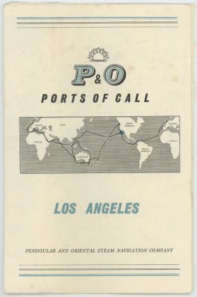 P & O Ports of Call. Los Angeles. P, O / CALIFORNIA - LOS ANGELES
