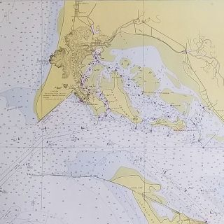 Columbia River Pacific Ocean to Harrington Point. [U.S. Coast and Geodetic Survey Map # 6151].