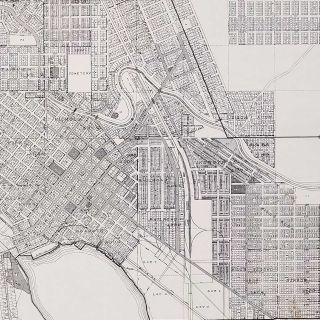 Map of Klamath Falls Oregon Compiled from Official Records 1926.