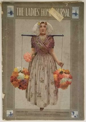 The Ladies' Home Journal. January 1910. PAPER DOLLS / FASHION / DOMESTIC