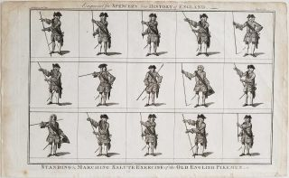 """Old English Pikeman"" & ""Antient English Musketeers"" ENGLAND / MILITARY."