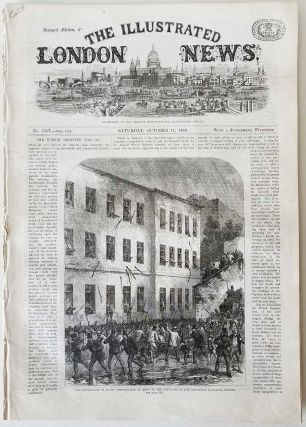 Illustrated London News. CALIFORNIA - SAN JOSE COURT HOUSE 1868