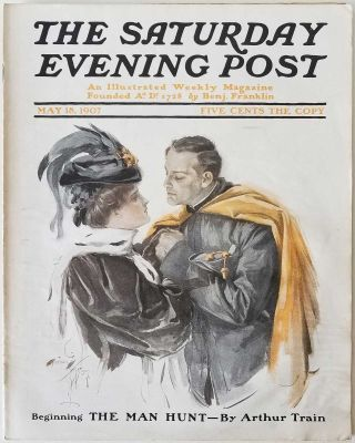 The Saturday Evening Post. February 5, 1910. DOMESTIC / FICTION / ADVERTISING
