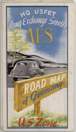 A.E.S. Road Map--U.S. Zone Germany.