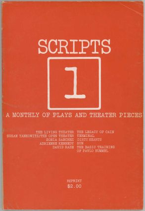 Scripts - A Monthly of Plays and Theatre Pieces. PLAY SCRIPTS, Erika Munk