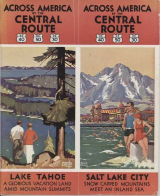 Across America by the Central Route. International Pacific Highways. US 40 US 50 US 30. International Pacific Highways. US 97 US 99 US 101.