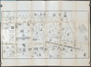 Map of Havana. (Map title: Plano Directorio No. 7 de la Zona Comercial y de Diversiones de La...