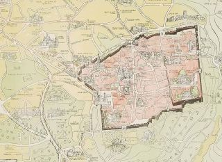 Guide - Map of Jerusalem. For H.M. and Allied Forces.
