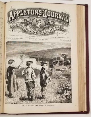 Appletons' Journal. Volume First, from Number One to Number Twenty. April 3, to August 14, 1869.