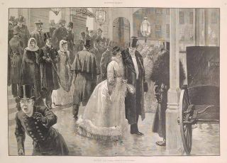 The Baths at Monterey, California. (in complete issue of Harper's Weekly January 29, 1887.