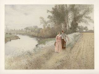 GROUP OF SEVEN UNTITLED Views of the British Countryside.