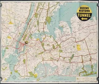 Queens Midtown Tunnel. Saves Time, Miles and Gas.