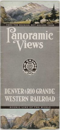 Panoramic Views Denver and Rio Grande Western Railroad.