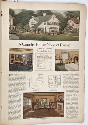 The Ladies' Home Journal. May 1911. HOUSES / FASHION / DOMESTIC