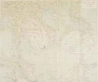 General Map of the East Indies. Malay Archipelago / Philippine Islands.