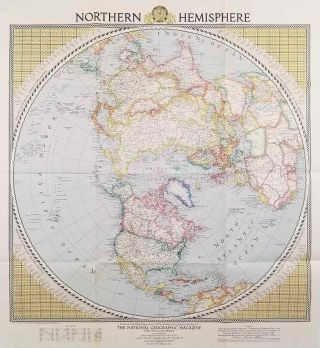 Northern Hemisphere. WORLD HEMISPHERES