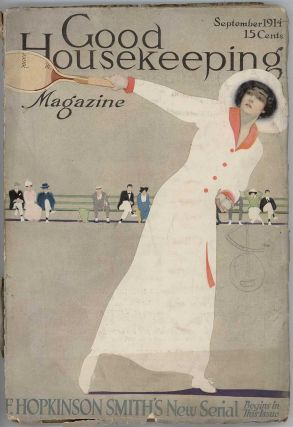 Good Housekeeping. September 1914. COLES - FADE-AWAY GIRL - TENNIS PHILLIPS