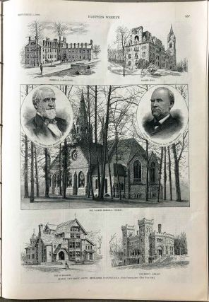 Lehigh University, South Bethlehem, Pennsylvania. IN COMPLETE ISSUE OF HARPER'S WEEKLY September...