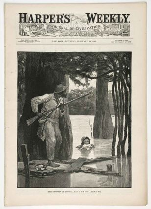 Sleighing in Central Park, New York City. IN COMPLETE ISSUE OF HARPER'S WEEKLY.