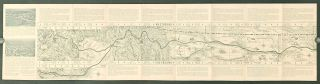 Route map and schedule of the Incomparable Empire Builder. Great Northern Railway.