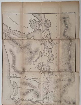 """""""A"""" Diagram of a Portion of Oregon Territory."""