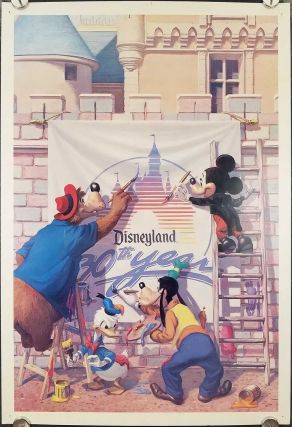 Disneyland. 30th Year. DISNEY POSTER