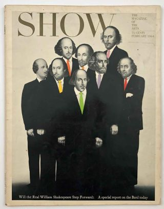 Show (the Magazine of the Arts). SHAKESPEARE