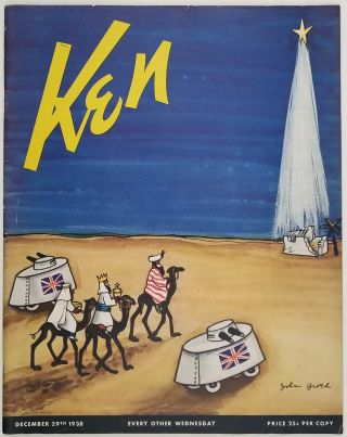 Ken. December 29 1938. HITLER / WORLD'S FAIR / CHRISTMAS / WORLD WAR II