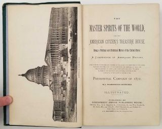 The Master Spirits of the World, and The American Citizens Treasure House.