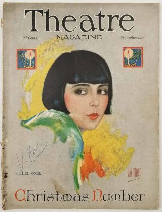 Theatre Magazine. December 1927. THEATER - GRETA GARBO / COLLEEN MOORE, Perriton Maxwell
