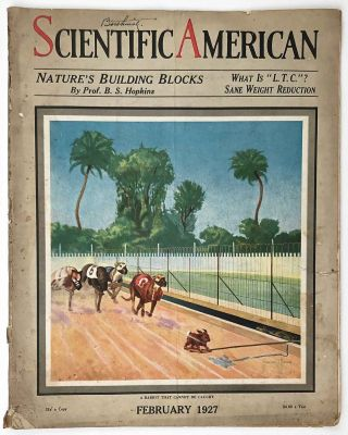 Scientific American. The Magazine of Today and Tomorrow. February 1927. DIRIGIBLE / SOLAR POWER