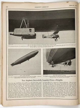 Scientific American. The Magazine of Today and Tomorrow. February 1927.
