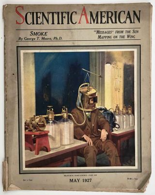 Scientific American. The Magazine of Today and Tomorrow. May 1927. ALASKA / AUSTRALIA / GOLF