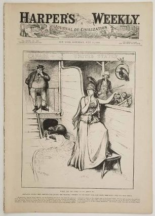 What Are We Going to Do About It? In COMPLETE ISSUE of Harper's Weekly. July 21, 1883....