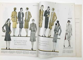McCall quarterly. Paris Fashion Number. Winter 1929.
