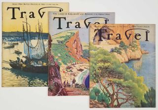 Travel. March, April, May 1933. [VINTAGE MAGAZINE - THREE ISSUES]. CHINA / IRELAND / POLYNESIA